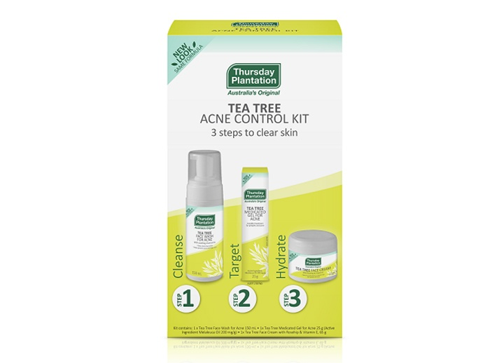 tea tree clear skin acne control pack thursday plantation australia