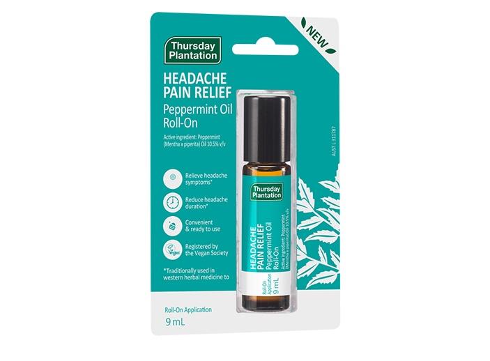 Headache Pain Relief Peppermint Oil Roll On