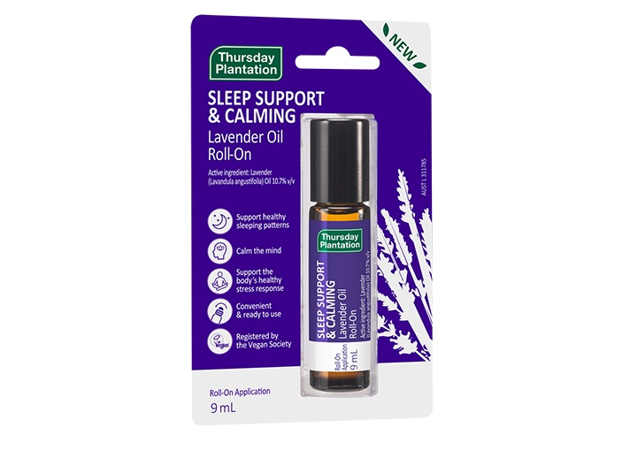 Lavender Oil Sleep Support and Calming Roll On