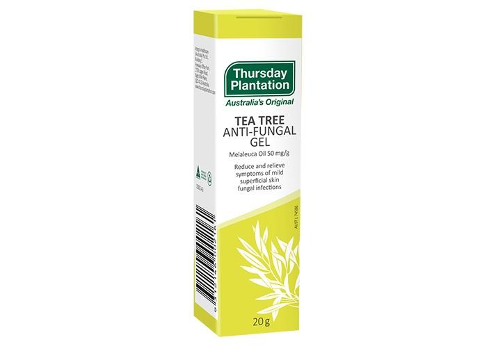 tea tree antifungal gel