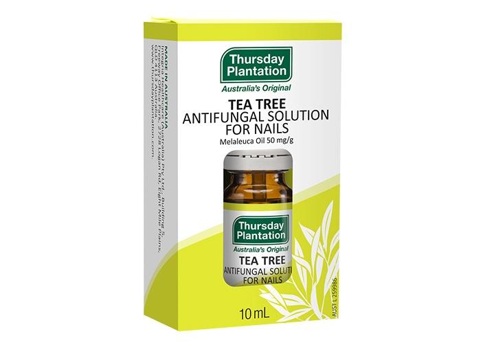 tea tree antifungal solution for nails